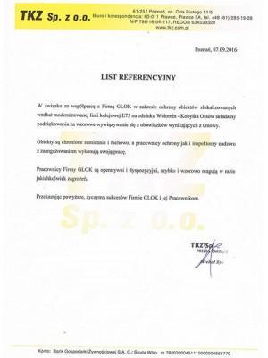referencje agencja ochrony