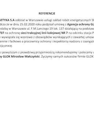 Rekomendacja PKP ENER NR7 1